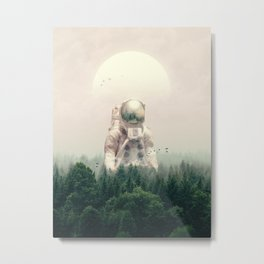 The Guest Metal Print