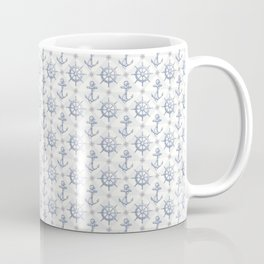 Nautical Pattern Coffee Mug