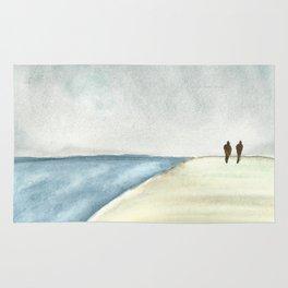 Walk at the Beach Rug