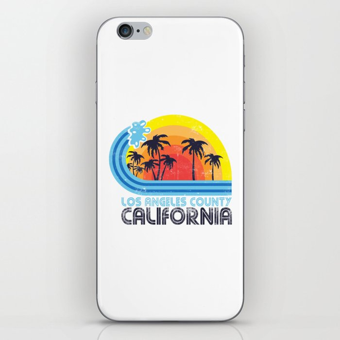 Los Angeles California Vintage iPhone Skin