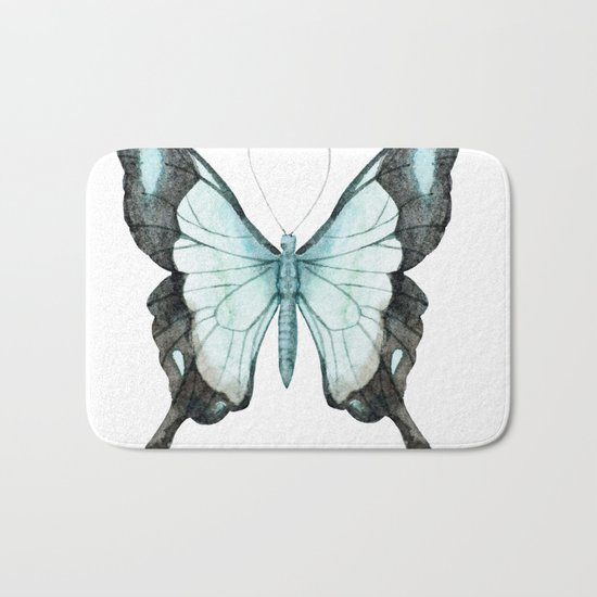 Butterfly 11 Bath Mat