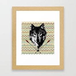 Spirit of the Wolf Framed Art Print