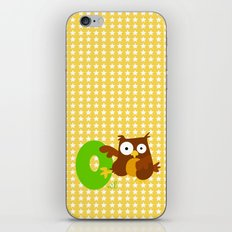 o for owl iPhone & iPod Skin