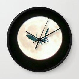Moondragon 3 Wall Clock