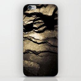 Brown Upstate New York Cave Art iPhone Skin