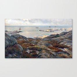 Berndt Lindholm Coastal Landscape Canvas Print