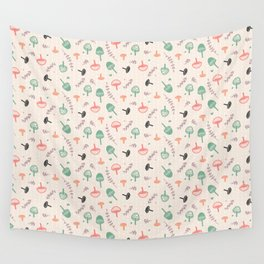 Forest love Wall Tapestry