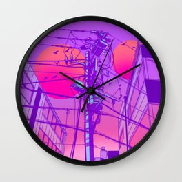 Anime Wires Wall Clock