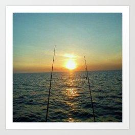 FISHING Kunstdrucke