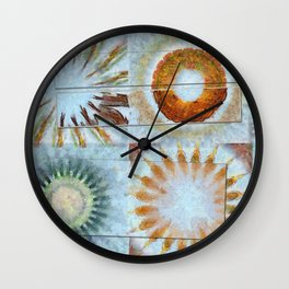 Semicynically Naked Flowers  ID:16165-045425-04611 Wall Clock