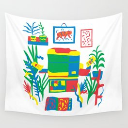 Risograph studio Wall Tapestry