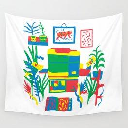 Risograph studio Wall Tapestry