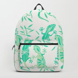 Geckos – Mint Palette Backpack