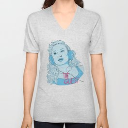 The Guest - Haunted When The Minutes Drag Unisex V-Neck