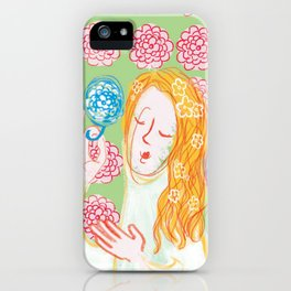 Angie Darling iPhone Case