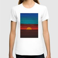 sunset T-shirts featuring Sunset by sinonelineman