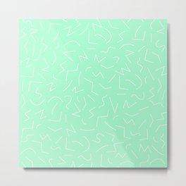 IZZY ((seafoam green)) Metal Print