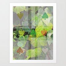 hyedra wall Art Print