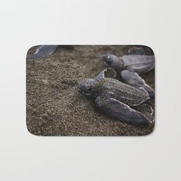 Baby Leather back Sea Turtle Bath Mat