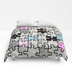 women and puzzle -2- Comforters