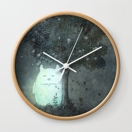 Full Moon Spirit  Wall Clock
