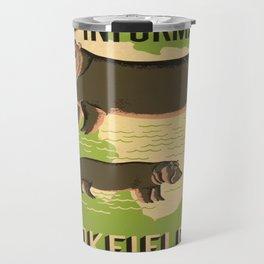 Vintage poster - Brookfield Zoo Travel Mug