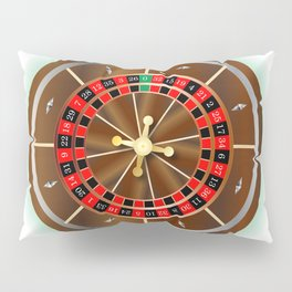 Roulette Wheel Pillow Sham