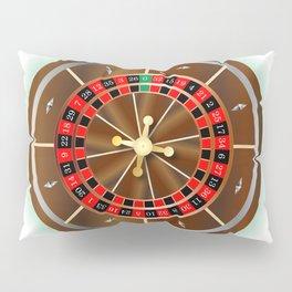 Roulette Wheel Pillow Sham