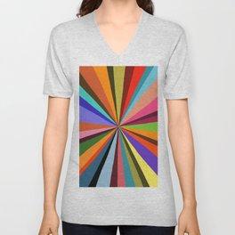 Technicolor dream 001 Unisex V-Neck