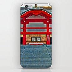 Red Temple iPhone & iPod Skin