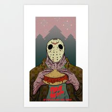 Friday The 14th Art Print