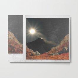 spacy polaroid? Metal Print