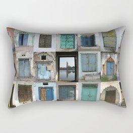 INDIA - Doors of India Rectangular Pillow