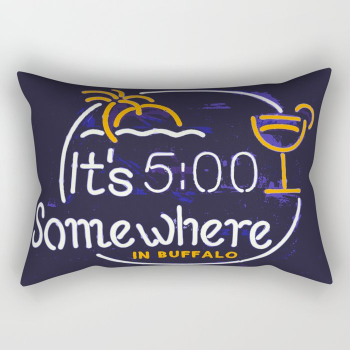 SOMEWHERE IN BUFFALO Rectangular Pillow