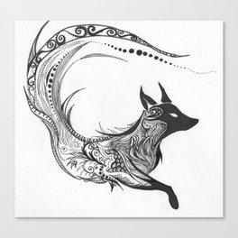 Sly Spirit Canvas Print