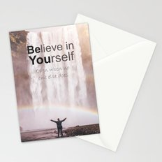 Motivational - Believe in you!  Stationery Cards