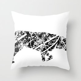 Labrador Scribble Throw Pillow