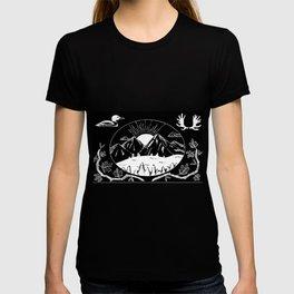 Canadian Mountain Range Invert T-shirt