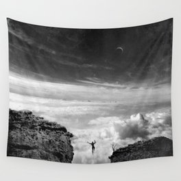 Taking Risks Wall Tapestry