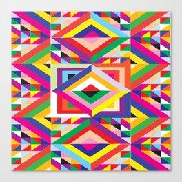 Wild Colormix Canvas Print