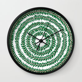 Merry go round (green) Wall Clock