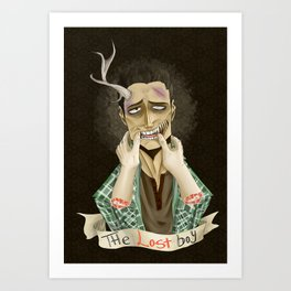 The Lost Boy Art Print
