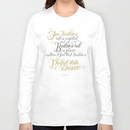 Day 6 - Boston Design Marathon Long Sleeve T-shirt