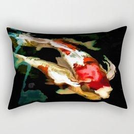 Nishikigoi Rectangular Pillow