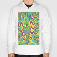 trippy Hoodies featuring trippy by Mik3c0utur3