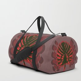Monstera Spring Celebration Duffle Bag