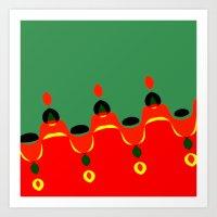 xmas Art Prints featuring xmas by Milenix Loerdi