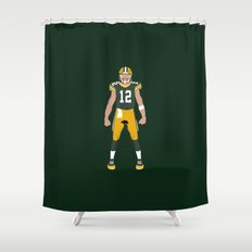 Cheese Head - Aaron Rodgers Shower Curtain