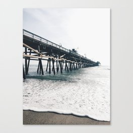 OC Pier Canvas Print