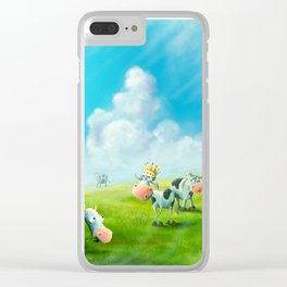 Mavis Steals the Crown Jewels Clear iPhone Case